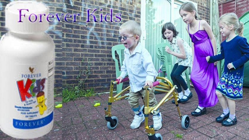 Engelli Çocukların Beslenmesinde Forever Living Produtcs