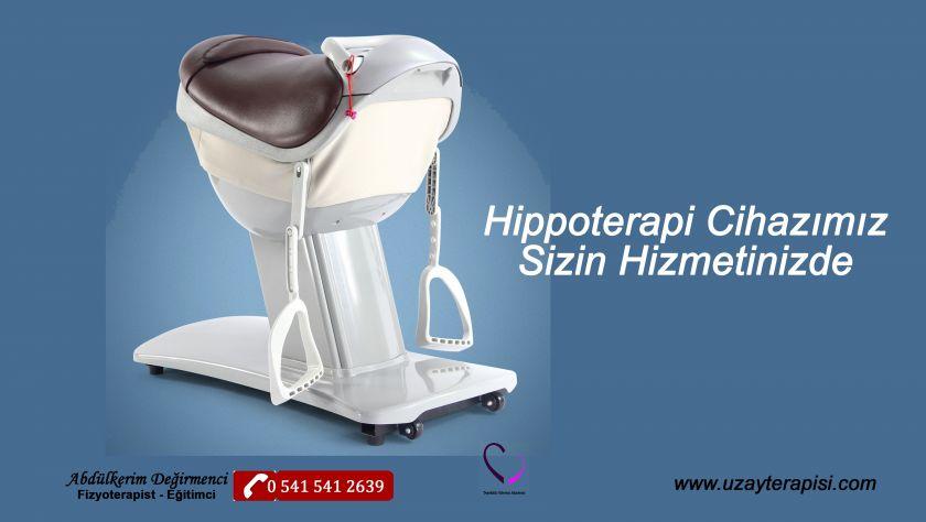 Hippoterapi Cihazı Sizin Hizmetinizde