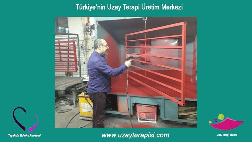 Türkiye'nin Uzay Terapi Üretim Merkezi